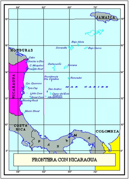 Frontera-Maritima-Nicaragua