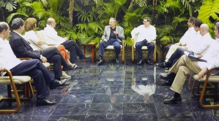 En el complejo Palco –hotel y centro de convenciones- se desarrollan los diálogos