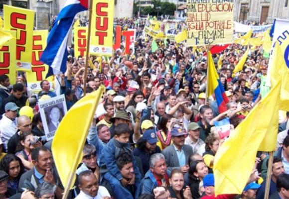 La lucha por un salario justo en Colombia
