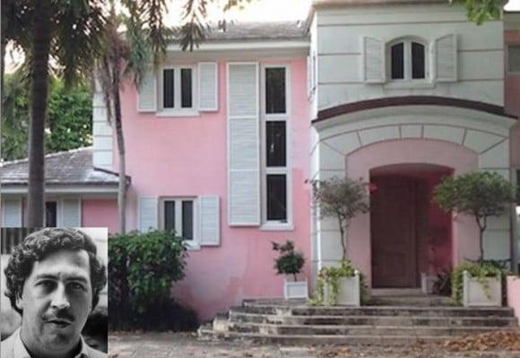 La mansión embrujada de Pablo Escobar en Miami
