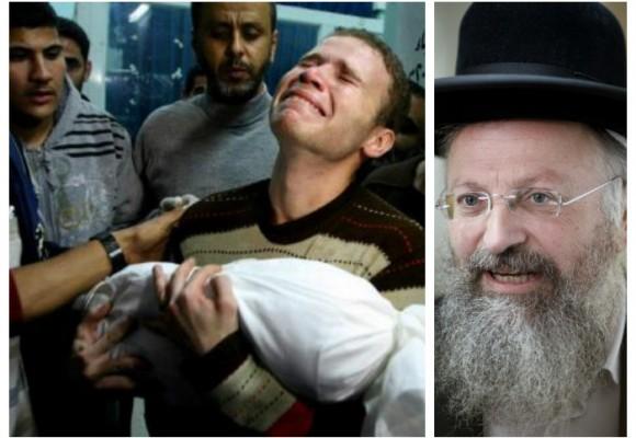 """""""No debe quedar ni un palestino vivo, hay que ejecutarlos a todos"""": Rabino Eliyahu"""