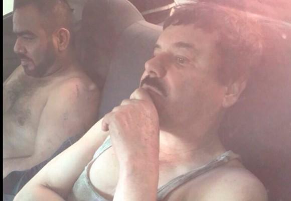 El Chapo Guzmán recapturado en su tierra natal, Sinaloa, México