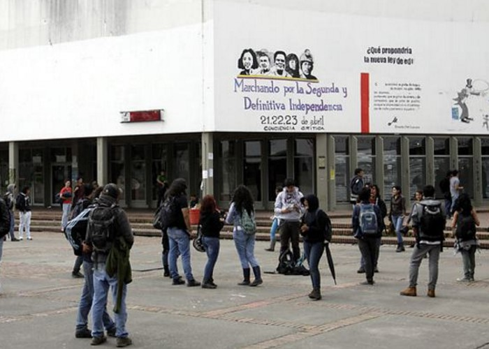 ¡SOS para la universidad pública en Colombia!
