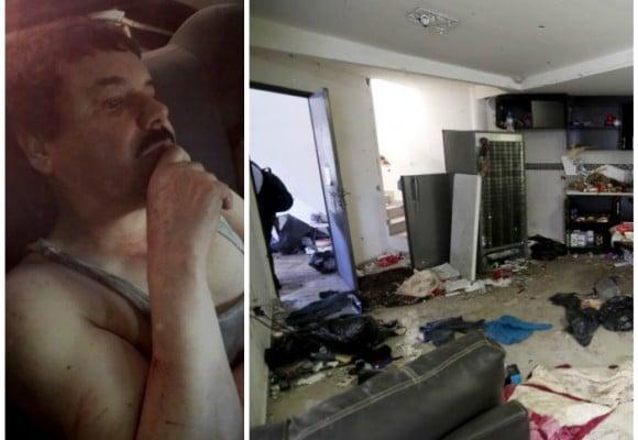 Video: recorrido por la casa en donde se escondía El Chapo Guzmán