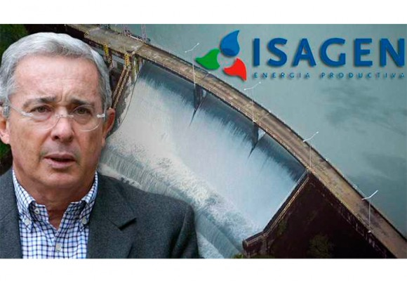 Cuando Uribe intentó vender Isagén