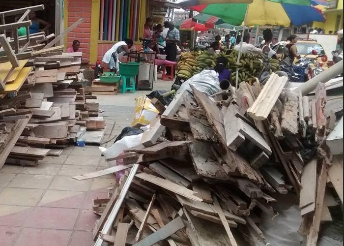 Así se ve Quibdó sin reciclaje