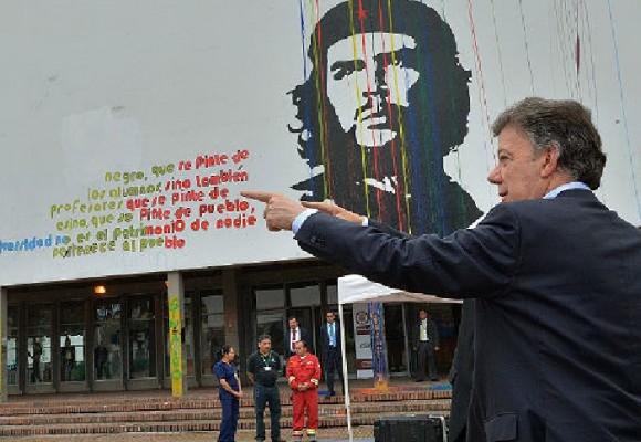 Reflexiones sobre la visita de Santos a la U. Nacional