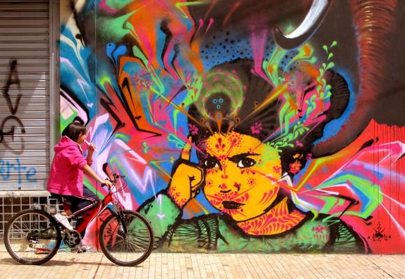 """""""El pez apestoso"""" el grafitero que embellece las calles bogotanas"""