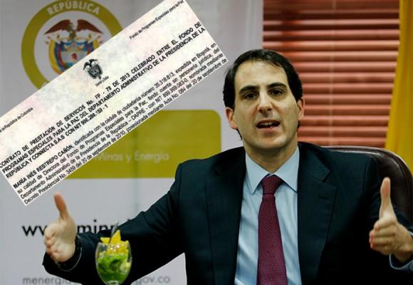 El pago que enreda al ministro de Minas Tomás González