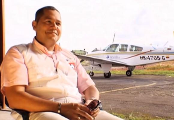 La patrulla aérea que salva vidas en el Chocó
