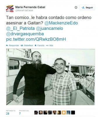 Twitter contra Gabo