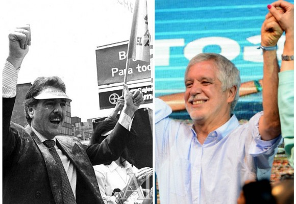 Peñalosa revive 30 años después el esolgan de la alcaldía de Andrés Pastrana