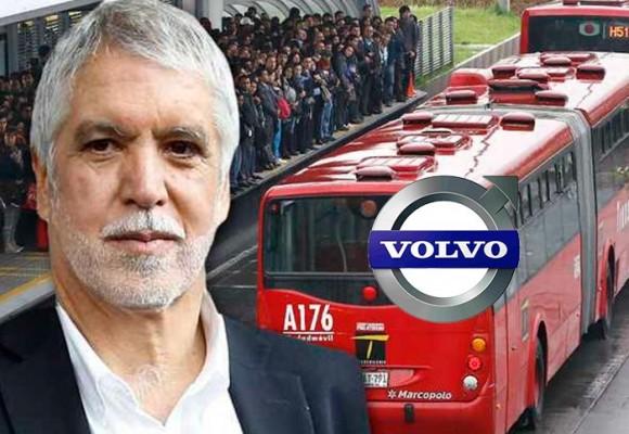 Cuando a Enrique Peñalosa lo patrocinaba la Volvo