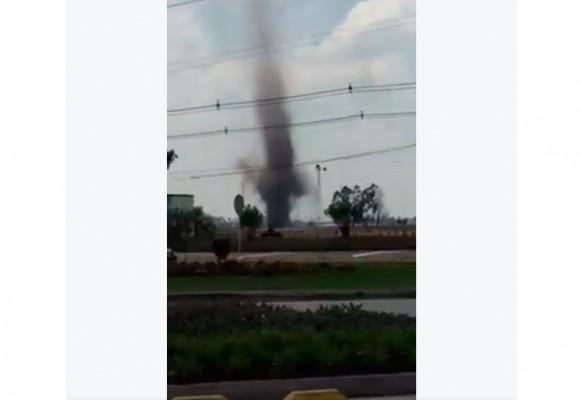 En video: ¿Dos tornados simultáneos en Bogotá?