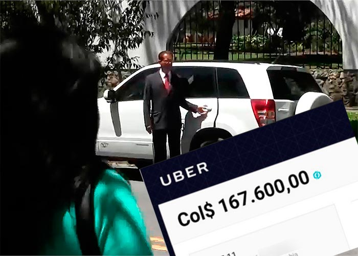 En Uber, $167.600 una carrera de Cedritos al Centro en el día sin carro