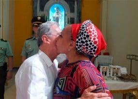 Piropos de Uribe a Piedad Córdoba:
