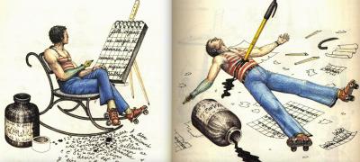 Ilustración: Codex Seraphinianus / Autor: Luigi Serafini