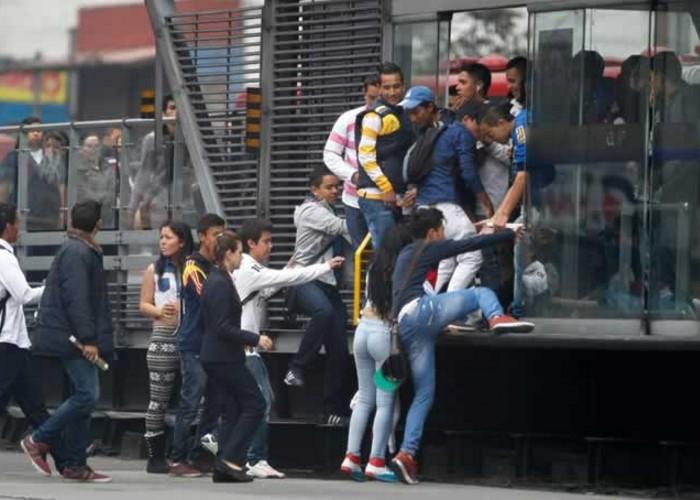 A diario la trampa y los vivos deambulan por la Bogotá