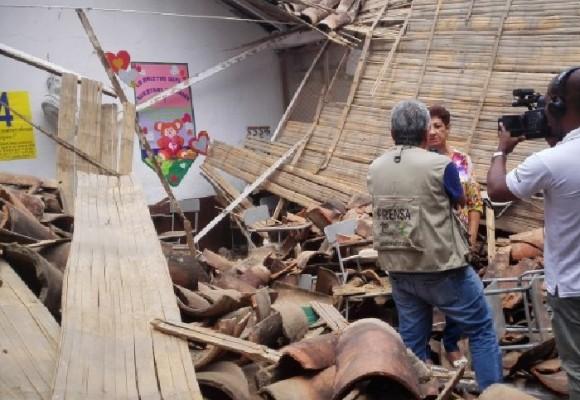 """""""Los colegios se están cayendo en Antioquia"""""""