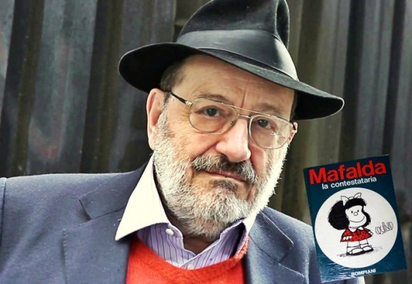 Umberto Eco y Mafalda