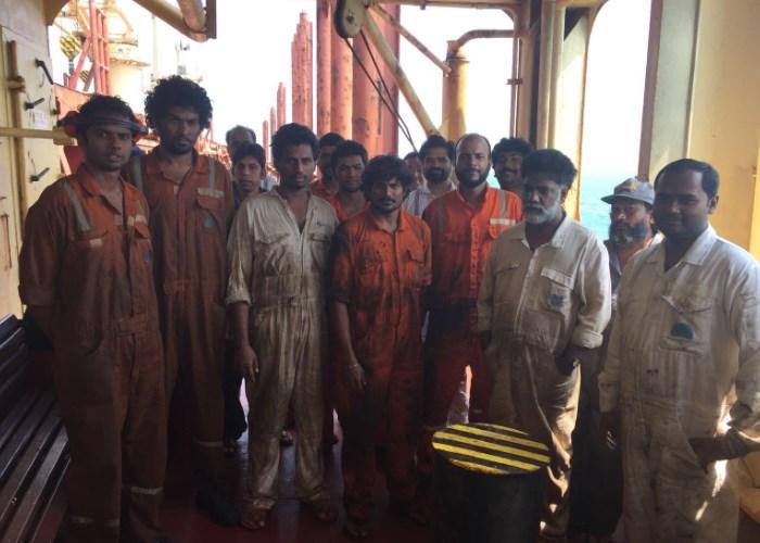 La odisea de 18 marineros indios abandonados en aguas colombianas