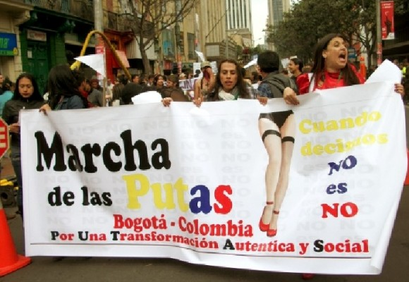 La Marcha de las Putas será el 8 de marzo en Bogotá
