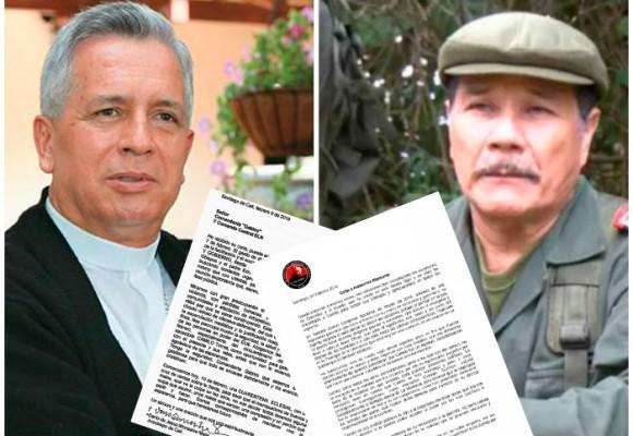 El cruce de cartas entre Gabino y monseñor Monsalve