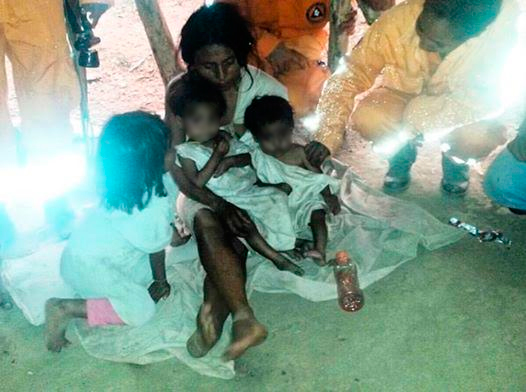 Los niños también se mueren de hambre en Magdalena