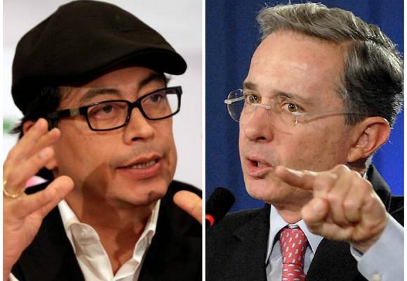 Petro y Uribe: dos visiones frente a la Paz