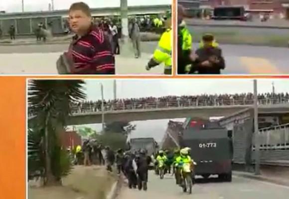¿Policías infiltrados de particular en las manifestaciones?