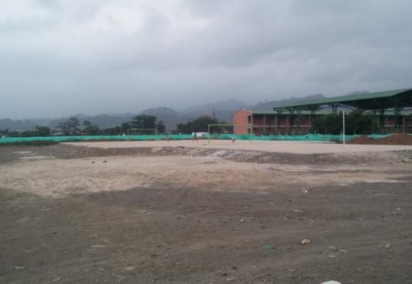 Así luce el estadio a nombre de Caterine Ibargüen en Apartadó