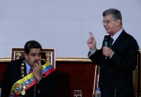 Ramos Allup, el hombre que le canta la tabla a Maduro