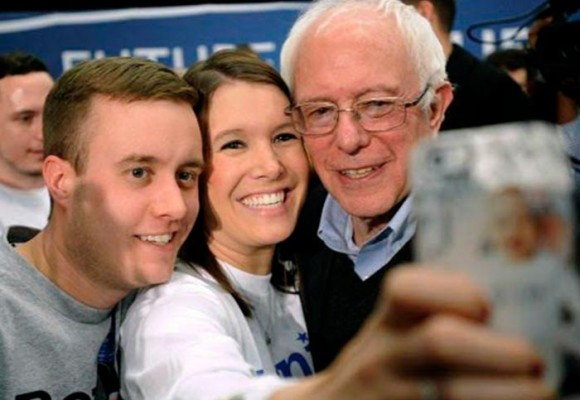 Bernie Sanders, el socialista de 73 años que se ganó a los jóvenes gringos