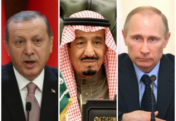 ¿Triunfaría Turquía y Arabia Saudita en una guerra contra Rusia?