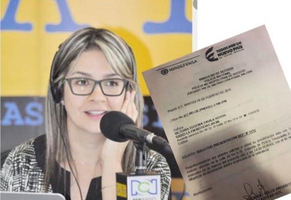 """""""Si algo me pasa, los responsables están en la Policía"""": Vicky Dávila"""