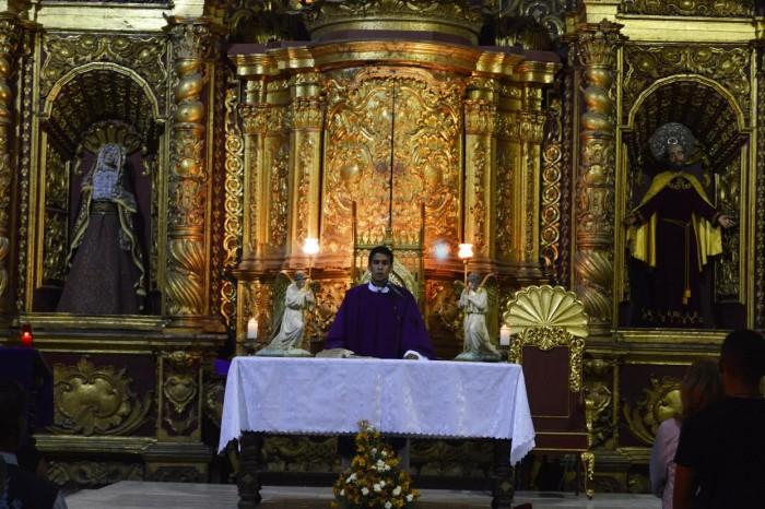 Altar de la Iglesia la Encarnación en Popayán, iglesia en la que Patrick Vanryckeghem contrajo nupcias con Adelaida Arboleda Silva en el 2007 / Fotografía Fabrit Cruz