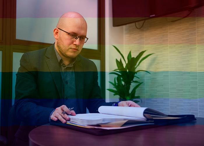 Un fiscal gay que se hace respetar