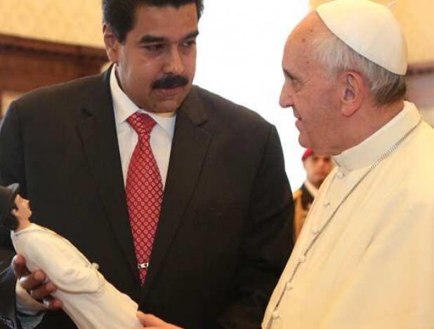Maduro-y-el-Papa-4