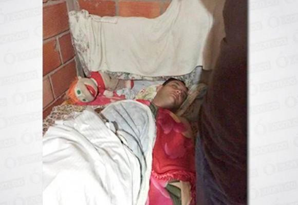 Golpeado y deshidratado llegó Ányelo Palacios después de su fuga