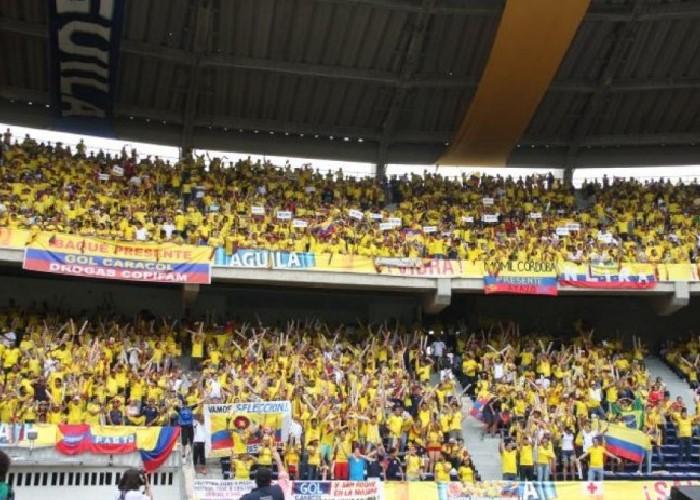 Si en el estadio de Barranquilla supieran de fútbol, no harían la ola ni gritarían