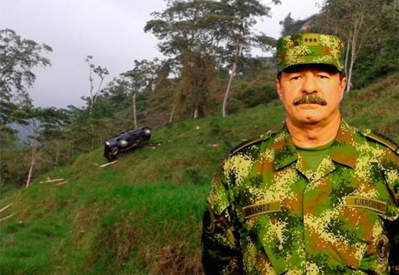Tragedia militar en una finca del general Javier Flórez