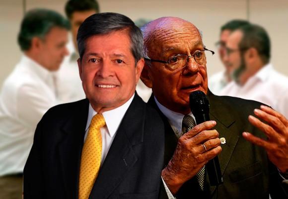 La paz de Santos enfrenta a los generales Jaime Ruiz y Gustavo Rincón