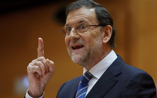 El Presidente del gobierno español Mariano Rajoy se vio forzado decirle adiós a la investidura