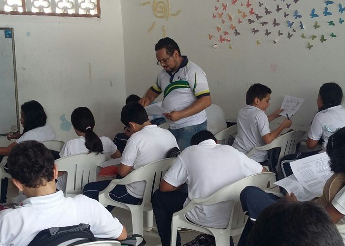 El profe que puso de moda las matemáticas en el Amazonas