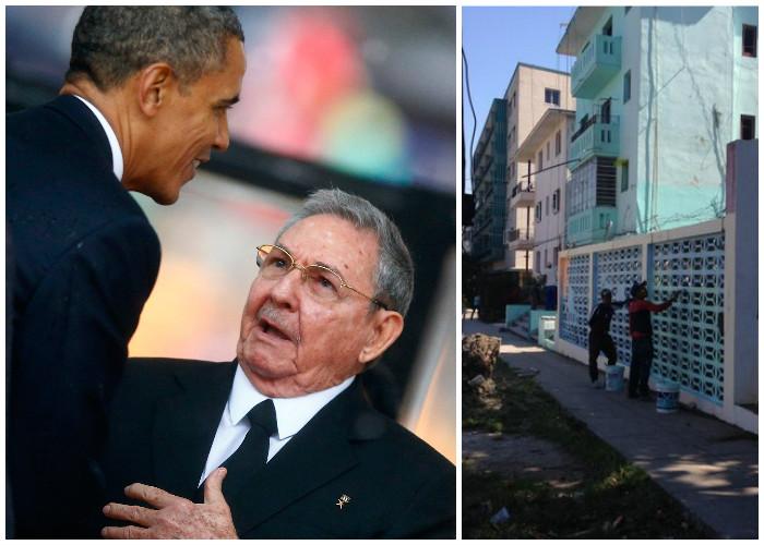 La avanzada de Obama sacude a La Habana