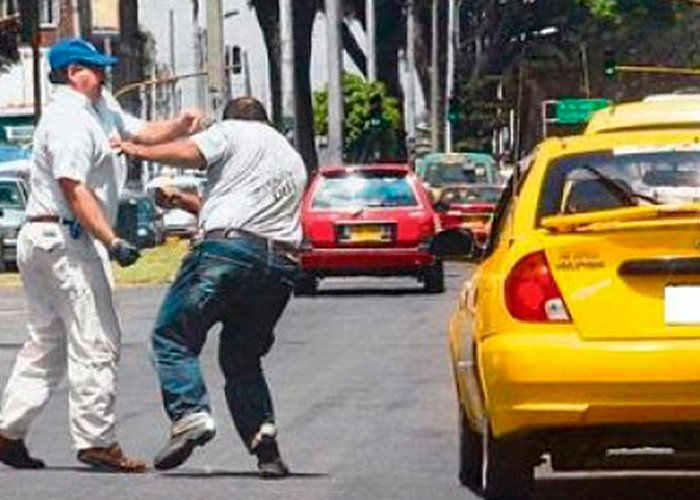 El 'Paramilitaxismo' se toma Bogotá