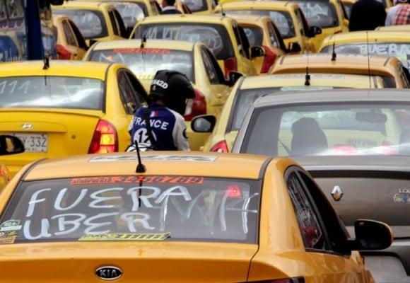 La realidad del problema entre taxistas y Uber