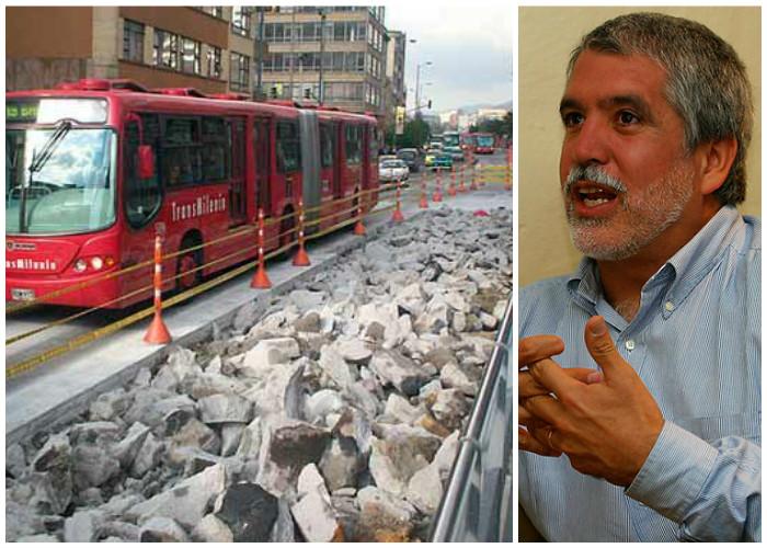 Cuando Peñalosa embolató a Bogotá con las baldosas de Transmilenio
