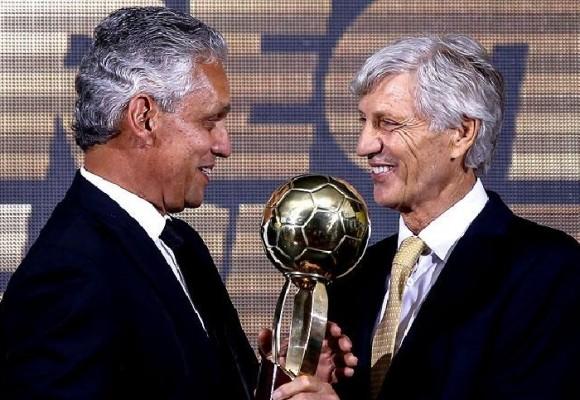 La Selección Colombia jugando en la Copa Libertadores