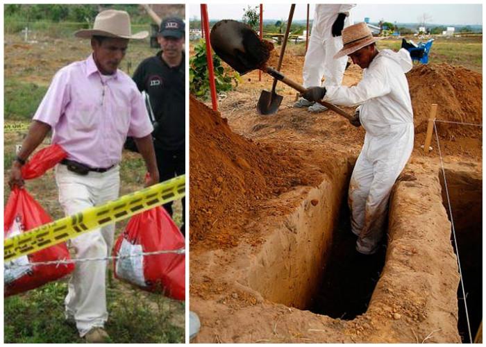 Los secretos que guarda el sepulturero de La Macarena
